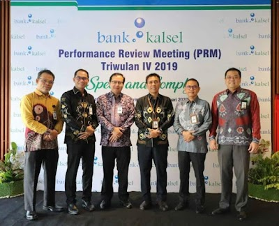 Evaluasi Tiga Bulanan, Bank Kalsel Gelar PRM
