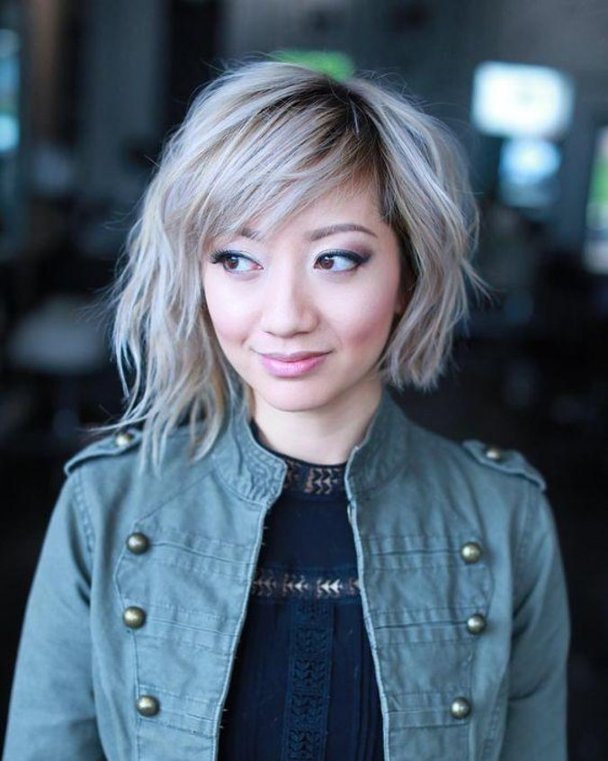 Trendy Asian Short Haircuts For Girls Nails C