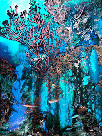 """The """"Coral Forest"""" piece from the """"2010"""" collection"""