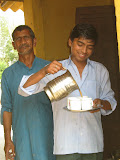 Tea from the project kitchen