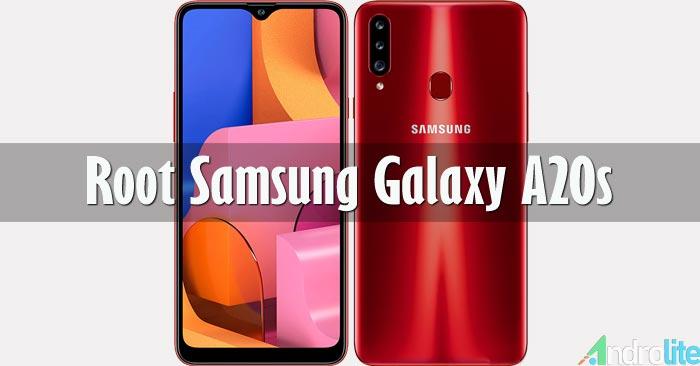 Root Samsung Galaxy A20s