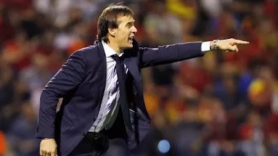 Direkrut Real Madrid, Julen Lopetegui Dipecat Timnas Spanyol