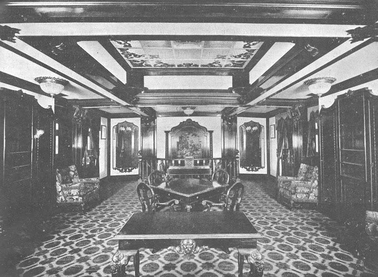 7- CIUDAD DE IBIZA. Salón fumador de primera clase. Revista de Ingenieria Naval. Abril de 1934.jpg