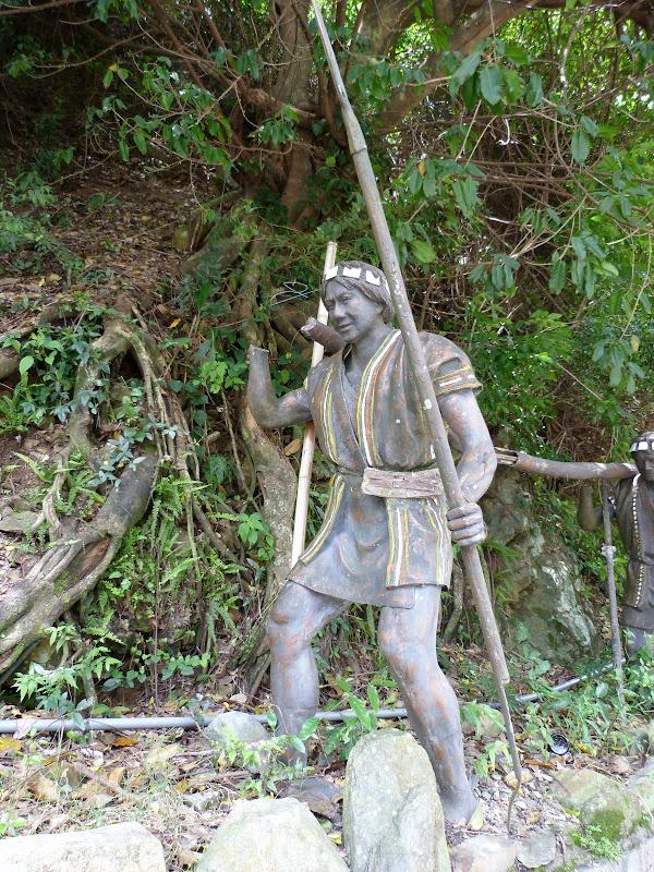 Puli  en passant , entre autres, par les villages de l ethnie Bunum de Loloko et Dili. J 10 - P1160953.JPG