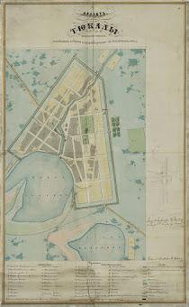 План города Тюкалинска (1858 г.)
