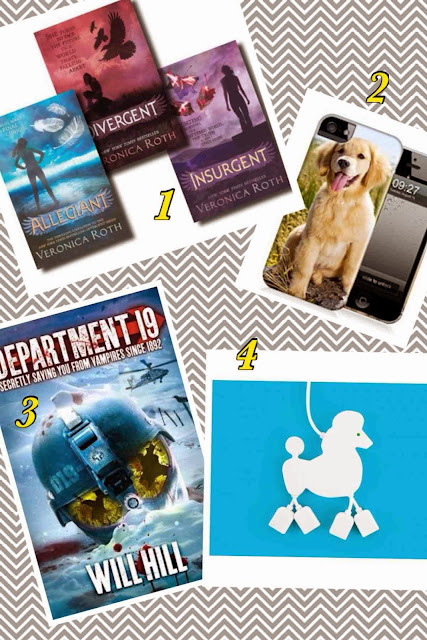 Christmas Gift Guides - Teenagers, veronica roth, will hill,  wrappz, poodle USB