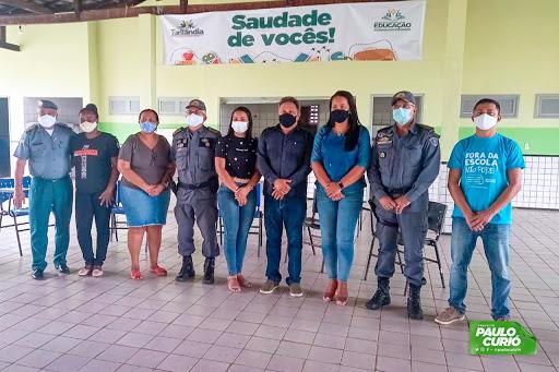 Prefeitura de Turilândia realiza primeira reunião sobre a implantação do Colégio Militar no município.