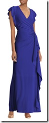 Lauren Ralph Lauren Jersey Evening Dress