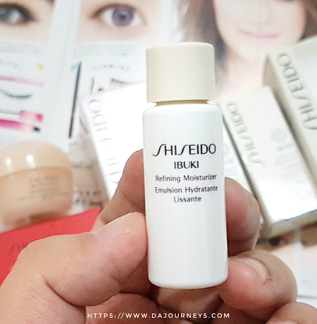 Review Shiseido IBUKI Refining Moisturizer