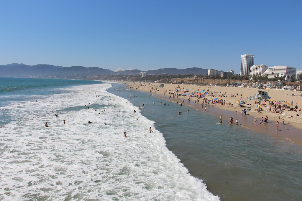 サンタモニカ ビーチ