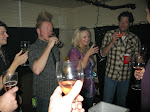 a champagne toast for a good show