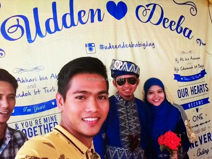selfie bersama pengantin