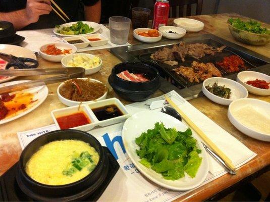 Oc dining cham sut gol korean bbq for Korean restaurant garden grove