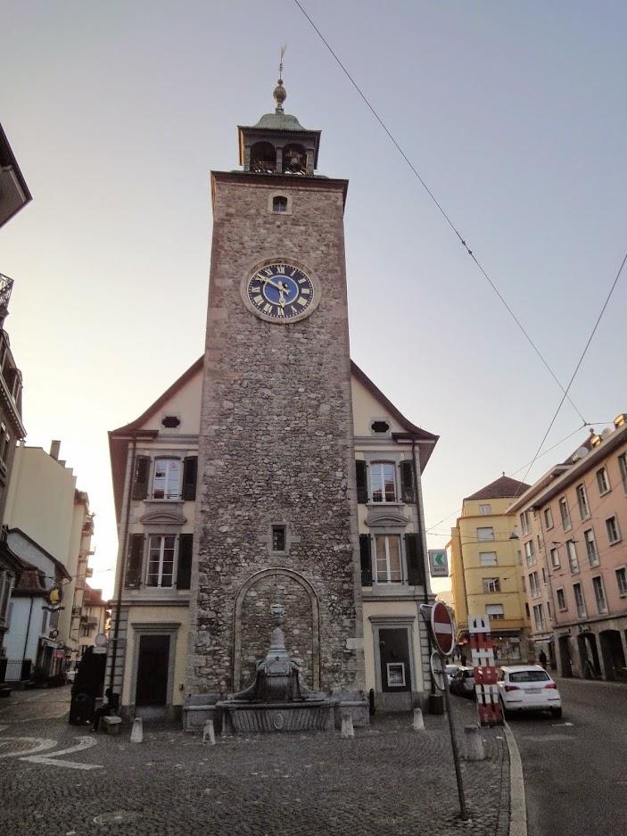Tour St-Jean à Vevey