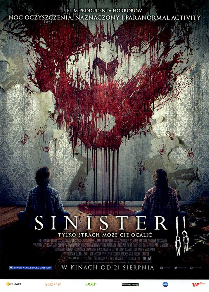 Ulotka filmu 'Sinister 2 (przód)'