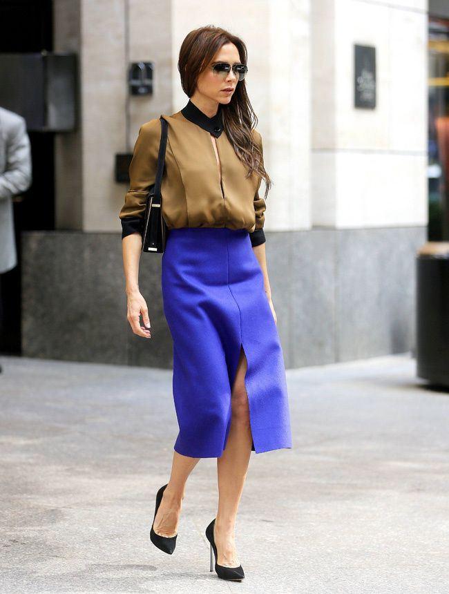 Victoria Beckham Street-Style