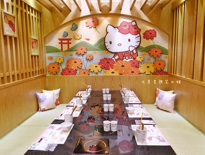 22 HELLO KITTY Shabu-Shabu 火鍋二號店 Hello Kitty  火鍋