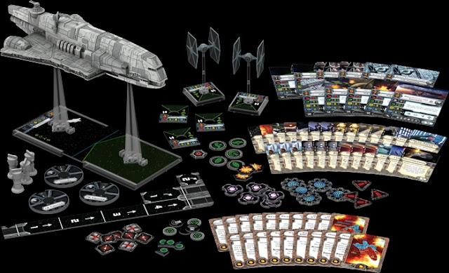 Contenido del Imperial Assault Carrier X-Wing