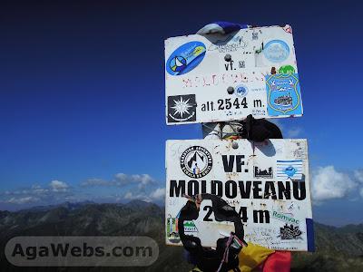 Moldoveanu 2544m