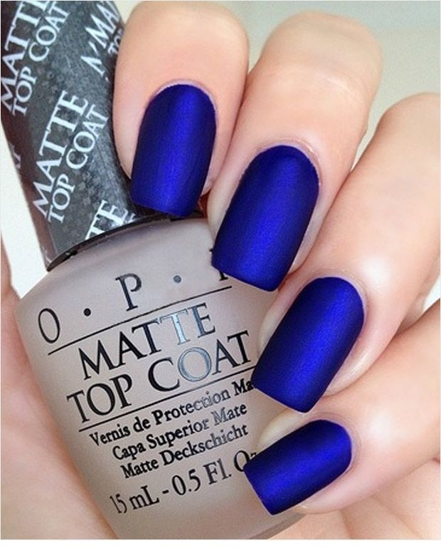 13 Blue Color Nail Designs You Must Try This Year Fashionte