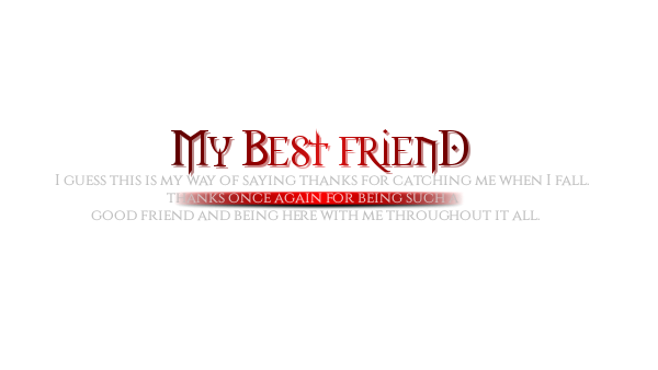 Friendship Day HD Text Pngs