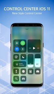 OS 11 iLauncher Phone 8 & Control Center OS 11 Screenshot