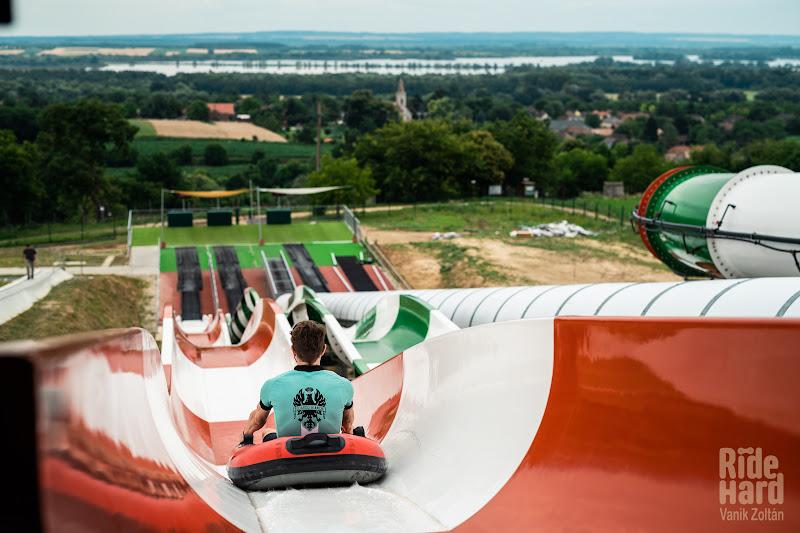 Adventure parc cu priveliste spre Balaton.