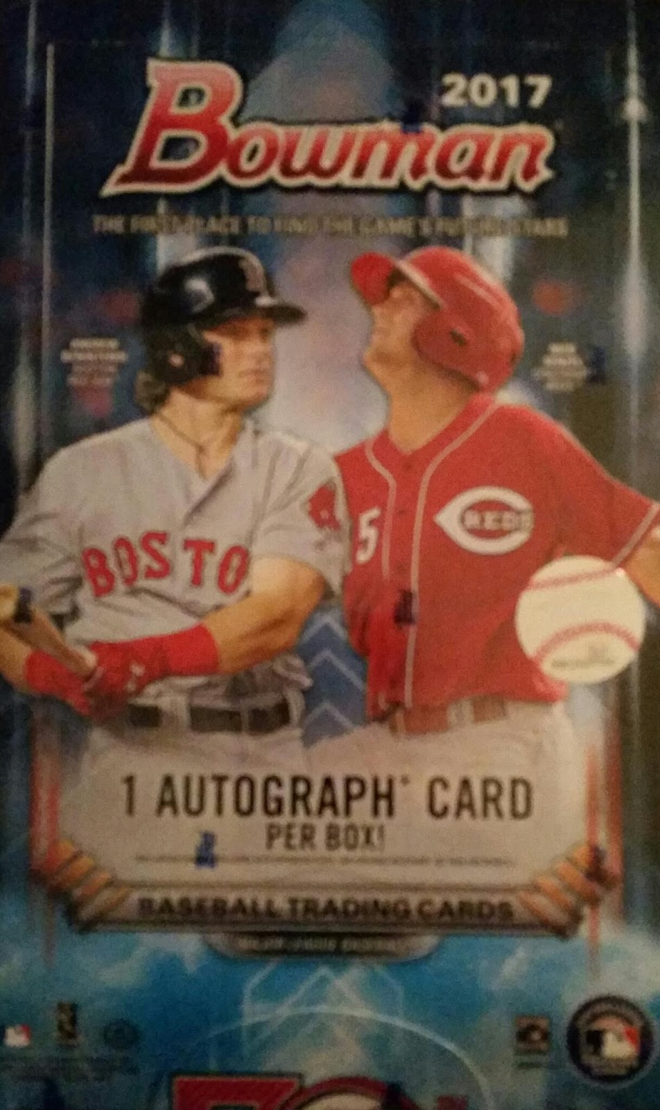 Sport Card Collectors Review2017 Bowman Baseball Nice