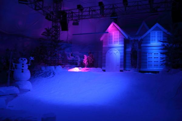 Indoor simulasi Musim Sejuk