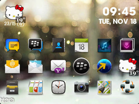 Noblesse Theme v1.9 for BlackBerry