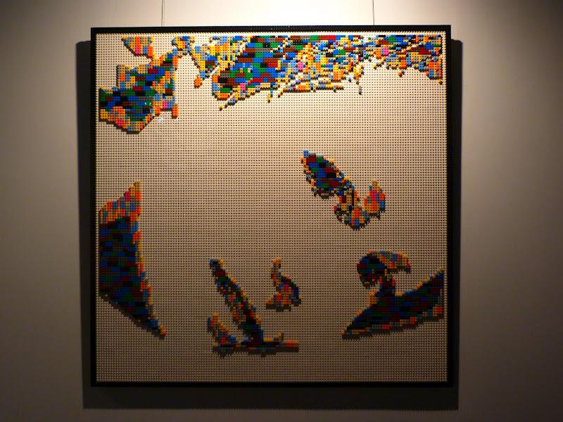 Taipei. Songshan Cultural and Creative Park. Nathan Sawaya. LEGO - P1230045.JPG