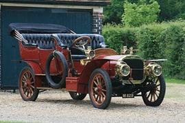Léon Bollée 1905 45-50 HP double chaine drive Roi des Belges