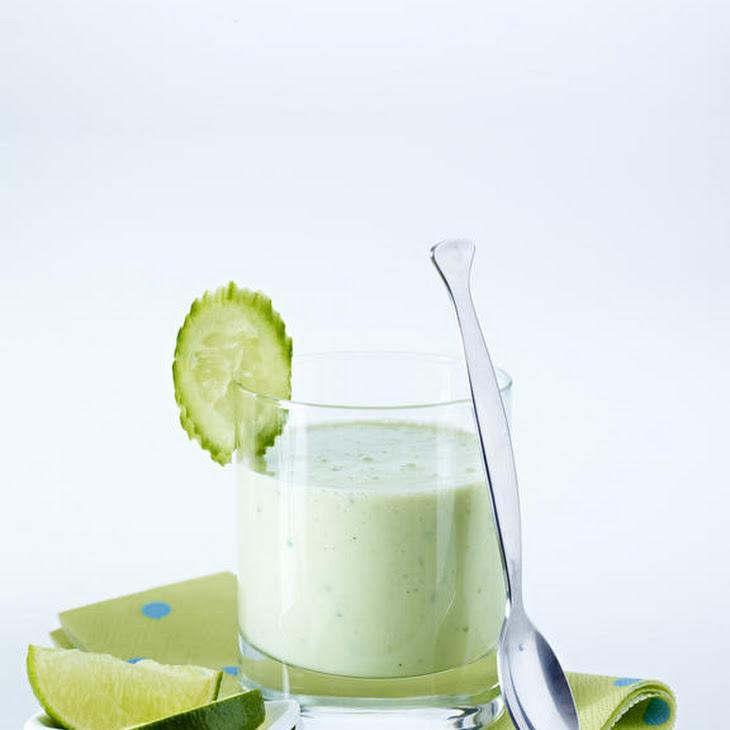 Cucumber and Avocado Lassi