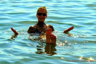 Экскурсия Мертвое море для Вас. Гид в Иерусалиме Светлана Фиалкова