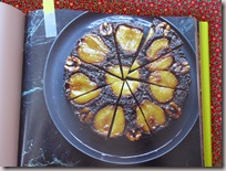 sticky pear upside down cake3