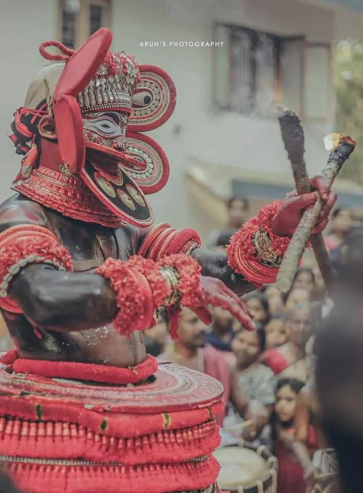 Kuttichathan Theyyam - കുട്ടിച്ചാത്തന് തെയ്യം 5