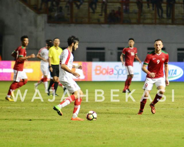 Kalah 1 - 0 timnas indonesia akui keunggulan timnas syria