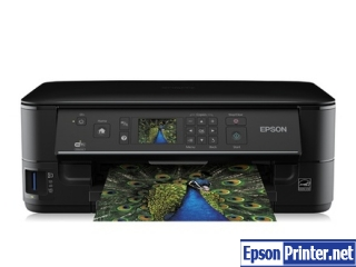 How to reset Epson SX440 printer