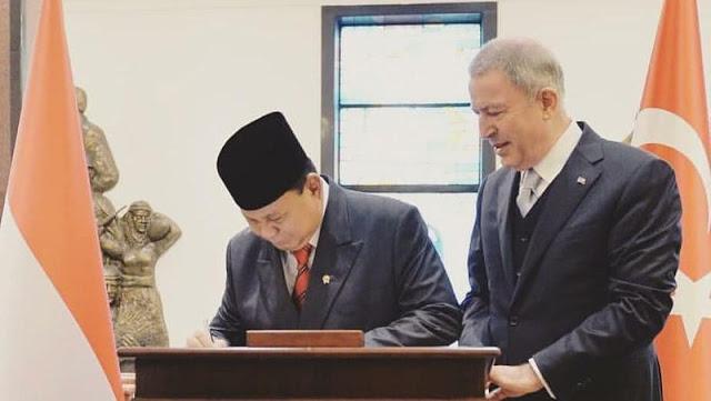Panglima TNI dan Singapura Bahas Latmil, Prabowo ke Turki