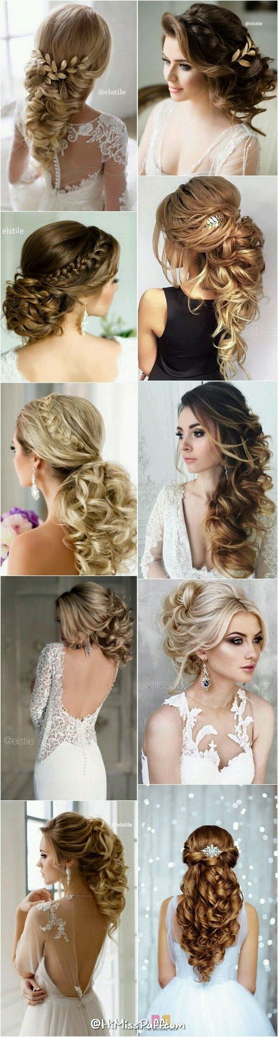 Hairstyles-Gorgeous Wedding Forٍ Chic Bride On Class World 3