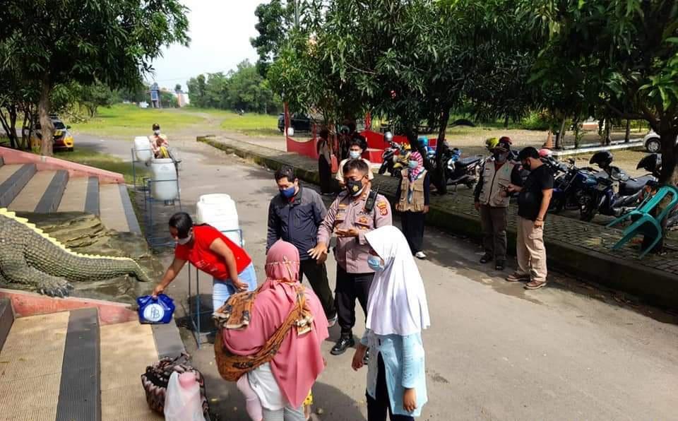 Obyek Wisata Jembar Waterpark Jadi Sasaran Ops Yustisi Polres Majalengka Polda Jabar