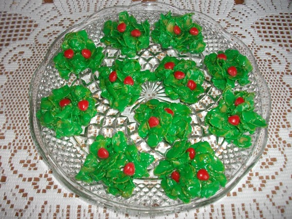 Holly Berry Cookies Recipe