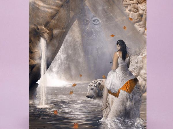 Beauty Bear And Waterfall, Magic Beauties 2