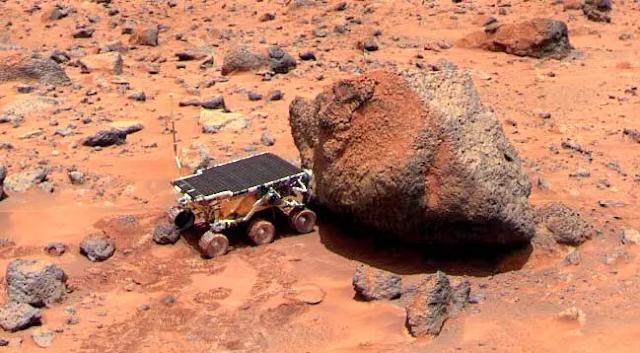 Sojourner de la misión Mars Pathfinder