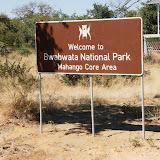 Le parc de Mahango