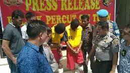 Melawan Saat Di Tangkap Dua Pencuri Spesialis Pembobol Rumah Di Dor Polsek Percut Seituan