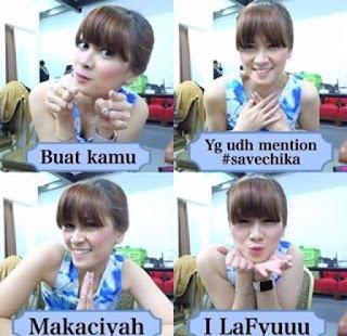 gara-gara hashtag #Savechika, kontrak chika jessica di hitam putih diperpanjang?