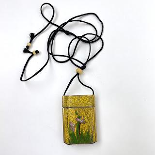Cloisonne Box Necklace
