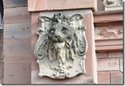 Heildelberg schloss Lion carricature de Frederic IV_