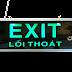 Đèn Exit lối thoát 1 mặt ZT-1E3W